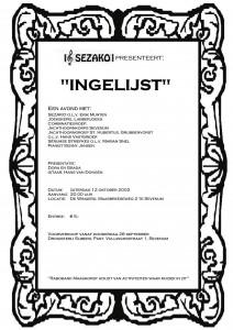 ingelijst