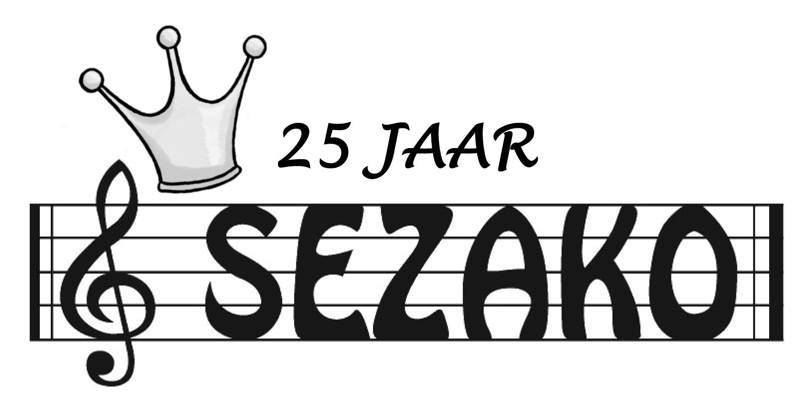 logo 25 jaar sezako